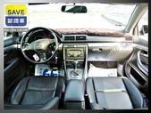 04年出廠 AUDI A4 B6 8E 1.8T 黑色 頂級天窗 渦輪增壓 方向盤換檔鍵 黑內裝 :4.jpg