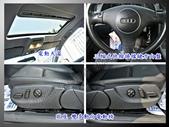 04年出廠 AUDI A4 B6 8E 1.8T 黑色 頂級天窗 渦輪增壓 方向盤換檔鍵 黑內裝 :5.jpg