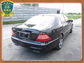 {歐力克-save認證車}正04年出廠 賓士 BENZ S350L W220型 3.5 黑 頂級天窗:2.jpg