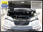 正00年 三菱 Space Gear 2.4 銀灰色 手排 頂級4WD 高腳 7座 螢幕 5門 滑門:7.jpg