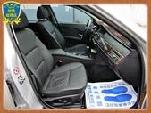 04年 寶馬 E60 525I 2.5銀 總代理 黑內裝 精品M5尾包四出尾管 天窗iDrive中文:2-.jpg