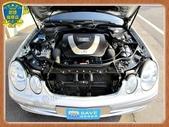 06年 BENZ W211 E280 3.0銀 黑內裝 阿曼加 跑車版 新型七速 全景天窗 烏眼楓木:7.jpg