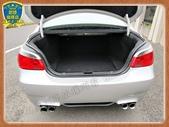 04年 寶馬 E60 525I 2.5銀 總代理 黑內裝 精品M5尾包四出尾管 天窗iDrive中文:8-.jpg