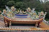 98獅頭山-南庄之旅:DSC_0019.jpg輔天宮屋頂之雕