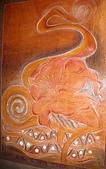 原住民 特色 木雕 石雕 :花蓮 原住民 皮雕