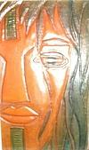 原住民 特色 木雕 石雕 :原住民 皮雕 紋面