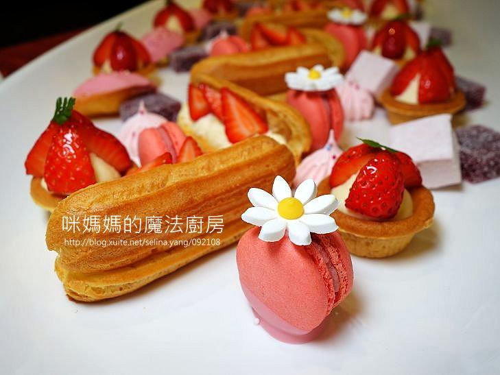 美味餐廳:【台北凱撒大飯店】Checkers草莓季甜點-2.jpg