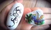 彩繪石頭 Rock Paintings:Day 16-Dragons.jpg