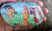 彩繪石頭 Rock Paintings:Day 18-Goddess 女神.jpg