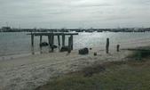 西澳。Port Denison:14 頗有詩意的木樁海景.jpg