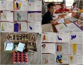 彩繪石頭 Rock Paintings:19張卡片全是孩子們幫忙寫和畫的喔!.jpg