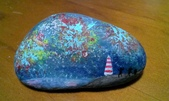 彩繪石頭 Rock Paintings:Day 31 Fireworks.jpg