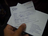 Malaysia, Kuala Lumpur:2 Citin Hotel-入住卡片及早餐券.jpg
