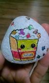 彩繪石頭 Rock Paintings:Day 19-Popcorn.jpg