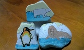 彩繪石頭 Rock Paintings:Day 20-Penguin.jpg