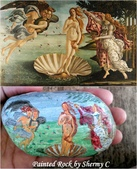 彩繪石頭 Rock Paintings:The Birth of Venus.jpg