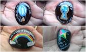 彩繪石頭 Rock Paintings:1-1. 熱氣球、鑰匙孔、彩虹和風箏—天空、嚮往自由.jpg
