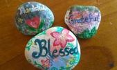 彩繪石頭 Rock Paintings:Day 1-Thankful.jpg