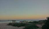 前往Monkey Mia的五天四夜:美麗的黃昏彩霞是我畫不出的美景.jpg