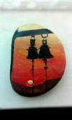 彩繪石頭 Rock Paintings:Church Bells Silhouette.jpg