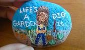 彩繪石頭 Rock Paintings:Day 27-Joe Dirt.jpg