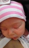 西澳。Port Denison:11 女兒在我懷裡睡得很熟,邊揹著她邊吃著我的午餐.jpg