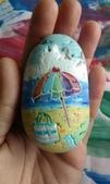彩繪石頭 Rock Paintings:Day 29-Beach Day.jpg