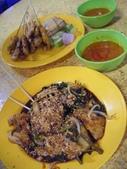 Malaysia, Melaka:17沙嗲和花生蔬菜Rojak.jpg