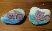 彩繪石頭 Rock Paintings:Day 21-Squirrels.jpg