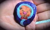 彩繪石頭 Rock Paintings:Day 24-Pigs in a Blanket.jpg