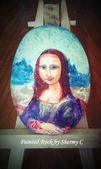 彩繪石頭 Rock Paintings:Mona Lisa.jpg