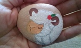 彩繪石頭 Rock Paintings:Day 28-Stuffed Animal.jpg