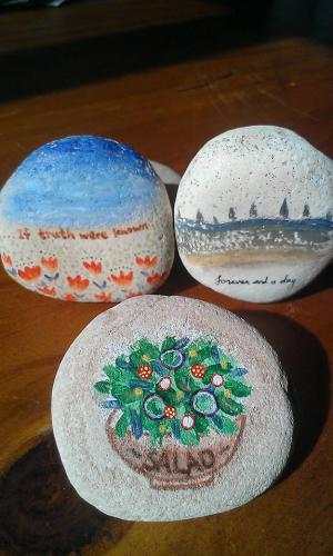 7.jpg - 彩繪石頭 Rock Paintings