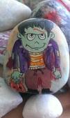 彩繪石頭 Rock Paintings:Day 29-Frankenstein.jpg