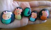 彩繪石頭 Rock Paintings:Day 16-Peppa Pig.jpg