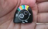 彩繪石頭 Rock Paintings:Day 25-Punk.jpg