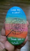 彩繪石頭 Rock Paintings:Day 5-Dandelions.jpg
