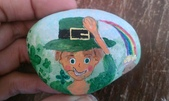 彩繪石頭 Rock Paintings:Day 17-St. Patrick's Day.jpg