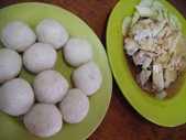 Malaysia, Melaka:4味道還OK的雞米丸子和醬油機.jpg