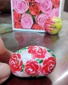 彩繪石頭 Rock Paintings:曾經練習過的玫瑰花.jpg