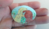 彩繪石頭 Rock Paintings:Day 23-Puppies 小狗狗.jpg