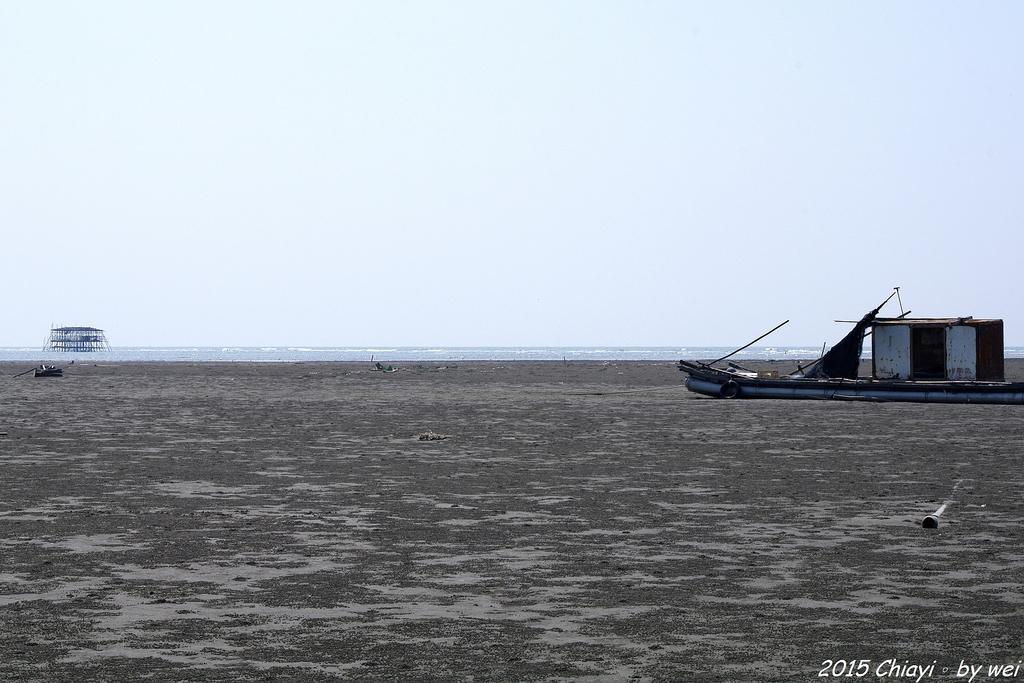 嘉義東石。逐漸消失的國境之西。飄移國土外傘頂洲:R0000441.JPG