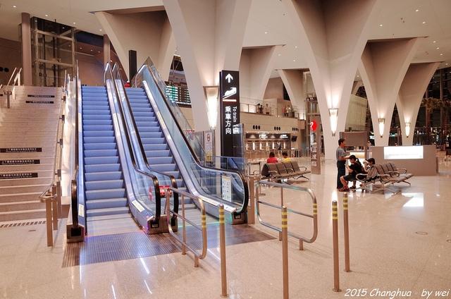 R0022068.JPG - 夜幕。高鐵彰化站