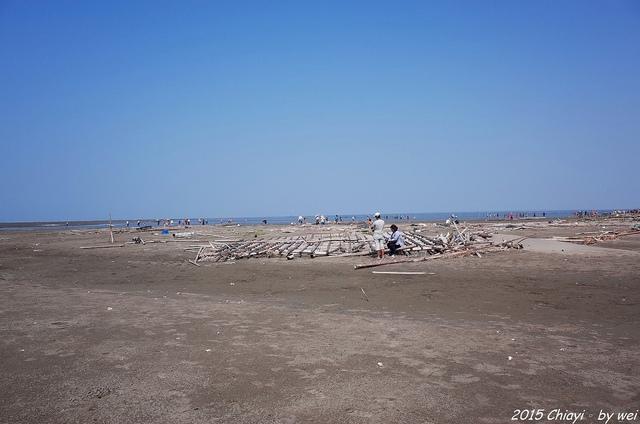 R0000412.JPG - 嘉義東石。逐漸消失的國境之西。飄移國土外傘頂洲
