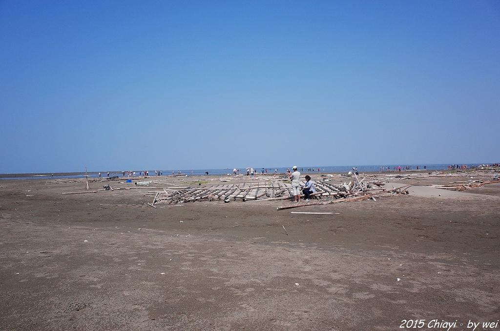 嘉義東石。逐漸消失的國境之西。飄移國土外傘頂洲:R0000412.JPG