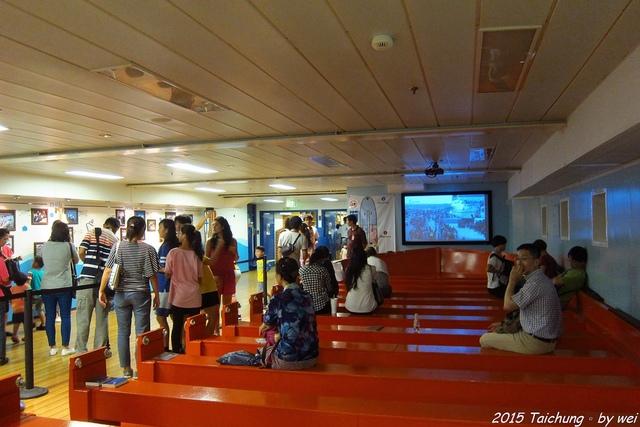 IMG_9169.JPG - 全球最大的海上圖書船。望道號(Logos Hope)首訪台中