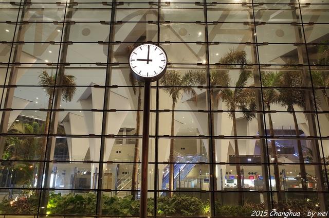 R0022336.JPG - 夜幕。高鐵彰化站
