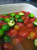 C太廚房筆記:酸梅桔子蜜釀番茄02