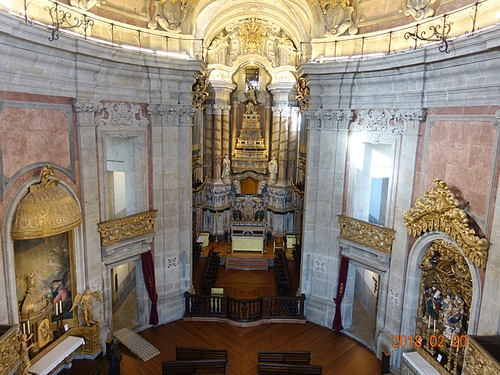 波多克萊瑞格斯教堂壯麗的內部.JPG - 201802葡萄牙藍瓷10天