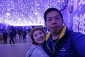 2016生活記錄:2016新北歡樂耶誕城燈海走廊自拍照.JPG